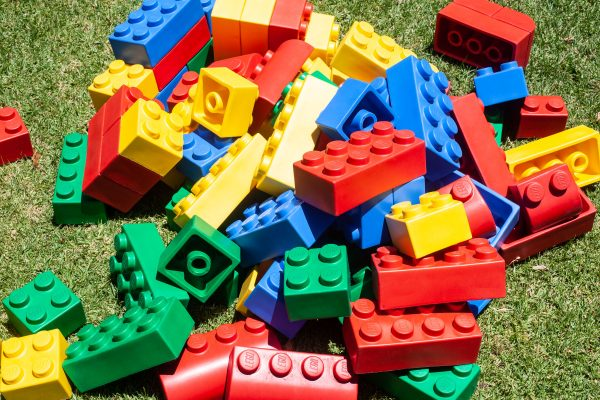 an image of giant lego blocks