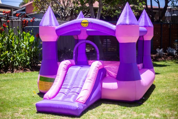 an image of the princess jumping castle