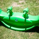 Blue Whale Seesaw