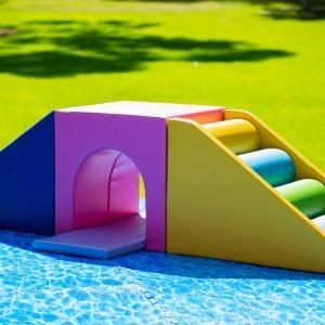 This is an image of the colourful soft play Tunnel