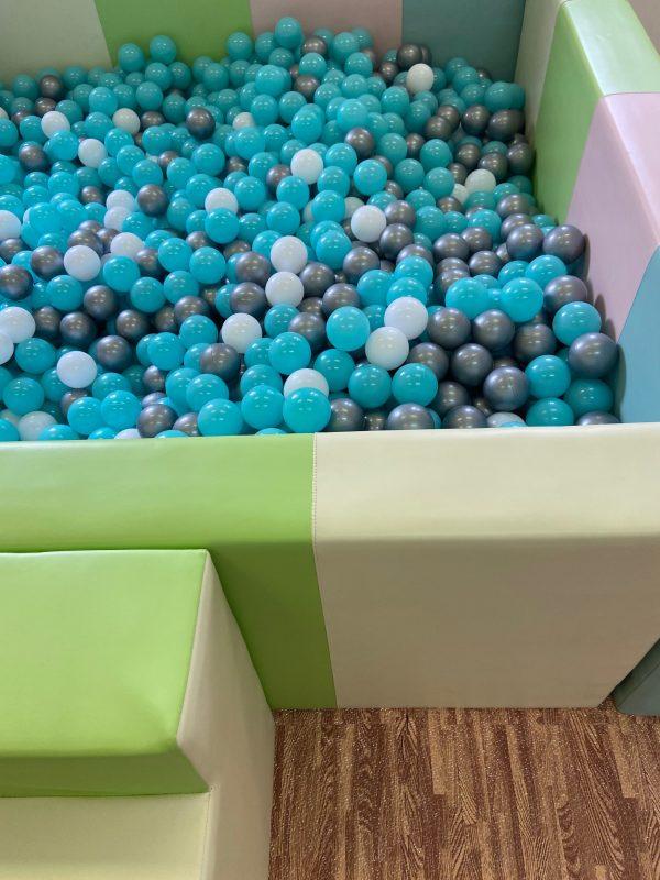 Custom balls blue