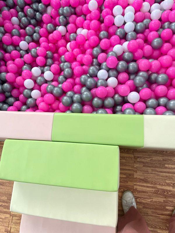 Custom balls pink