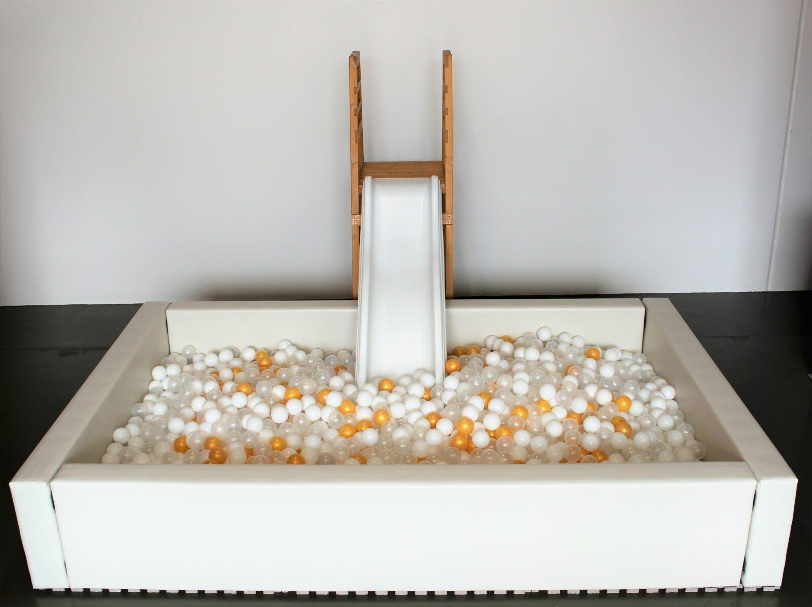 White slide