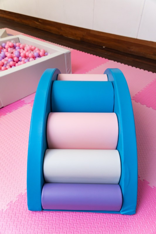 This is a photograph of the Rainbow Bridge package add-on that will be the perfect addition to your kids party